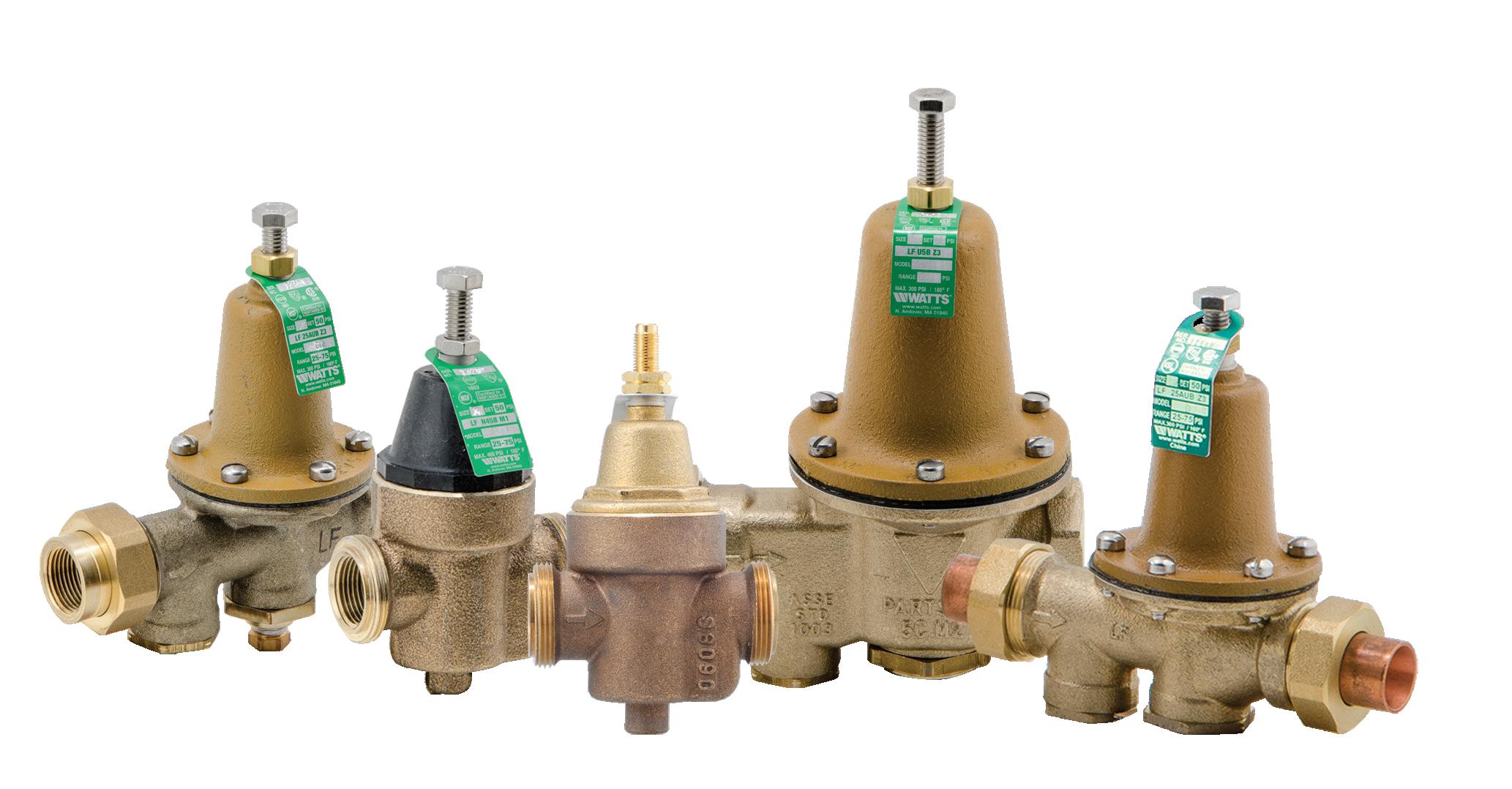 Válvula reductora de presión para agua
