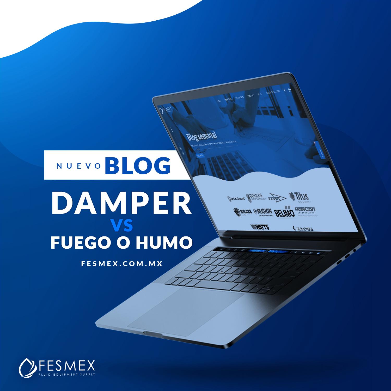 DAMPER VS FUEGO O HUMO